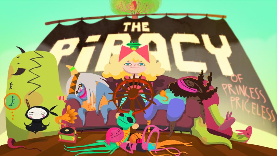 The Piracy of Princess Priceless